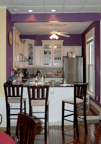 Purple Kitchen Spark