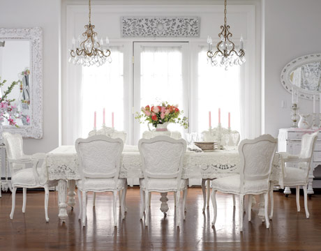 White Dining Room | spark!