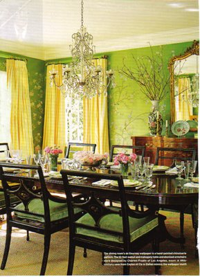 And  Green Dining Room   spark . Green Dining Rooms. Home Design Ideas