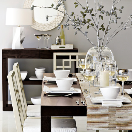 Gray dining room spark for Grey dining room