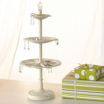 ... jewelry tree from PB Teen ($59), especially the glass finial at the top.