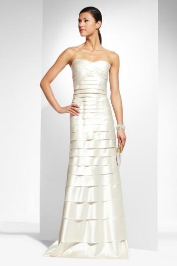 Bcbg beautifully chic bargain wedding gowns spark strapless junglespirit Images