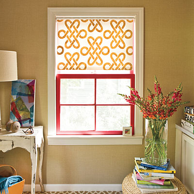 To Diy For Painted Roller Shades Spark