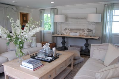 Hamptons designer showhouse spark for Hamptons beach house interiors
