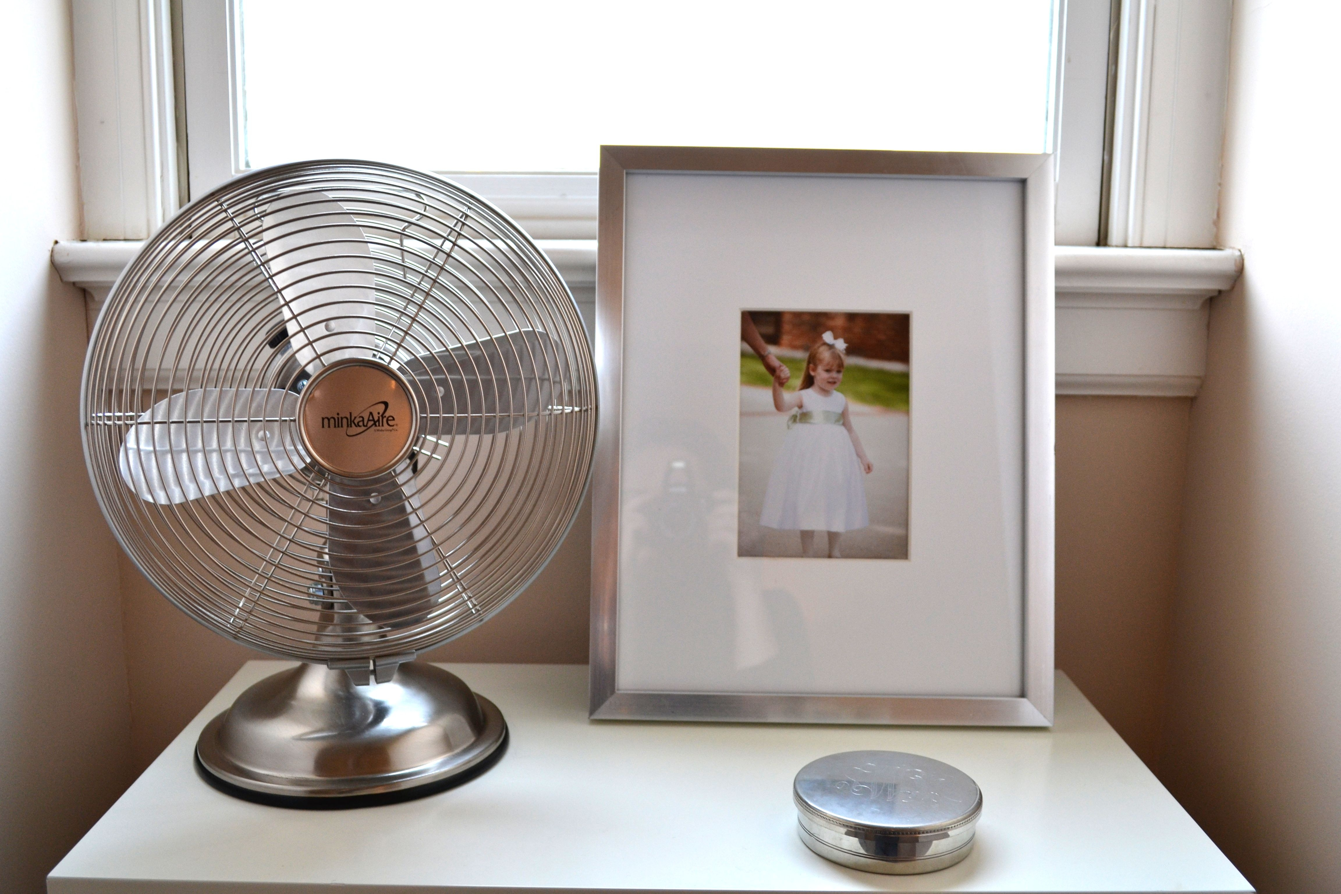 quiet and retro looking little minka aire fan yay for mini updates